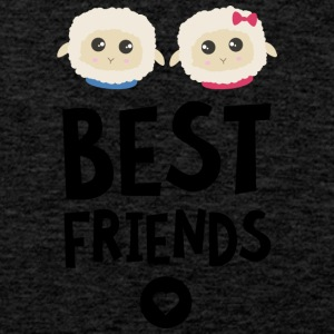 Sheeps Best friends Heart S2fy6 Sports wear - Men's Premium Tank Top