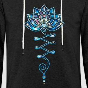 Lotus, yoga meditation, Festival, flower, flower Hoodies & Sweatshirts - Light Unisex Sweatshirt Hoodie