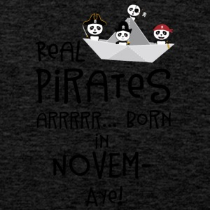 Real Pirates are born in NOVEMBER Sp4yn Sports wear - Men's Premium Tank Top