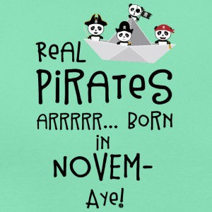 Real Pirates are born in NOVEMBER Sp4yn T-Shirts - Women's T-Shirt