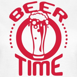 beer time citation alcool humour biere  Tee shirts - T-shirt Femme