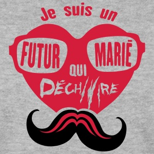 evjg futur marie dechire 3 enterrement  Sweat-shirts - Sweat-shirt Homme
