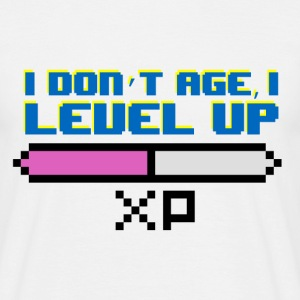 I Don't Age, I Level Up - Men's T-Shirt
