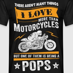 Motorcycles Pops T-Shirts - Men's T-Shirt