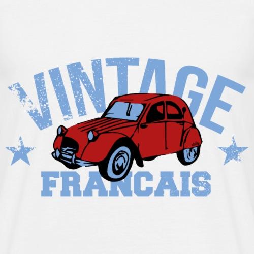 VINTAGE français Voiture 2 CV