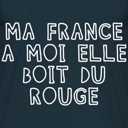 Ma France boit du rouge B