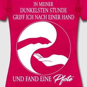 PFOTE T-Shirts - Frauen T-Shirt