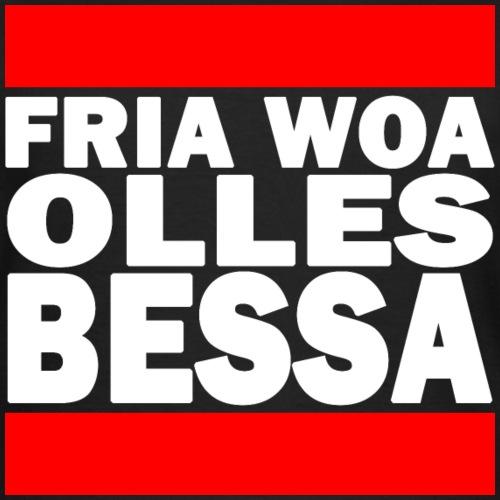 FRÜHER - WOA OLLES BESSA