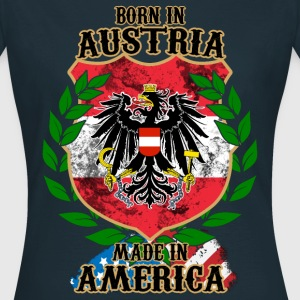 AUSTRIA MADE IN AMERICA T-Shirts - Frauen T-Shirt