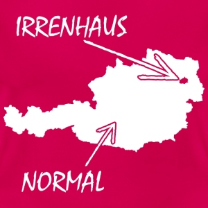 NORMAL-IRRENHAUS T-Shirts - Frauen T-Shirt