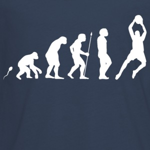 Torwart Evolution Fun Shirt Langarmshirts - Teenager Premium Langarmshirt