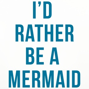 Rather Be A Mermaid Funny Quote  Mugs & Drinkware - Coasters (set of 4)