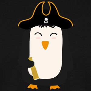 Penguin Pirate Captain Swfb5 Hoodies & Sweatshirts - Men's Sweatshirt