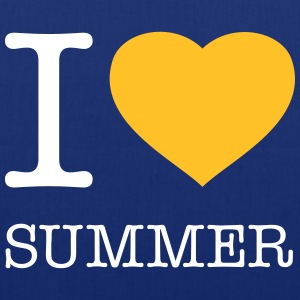 I LOVE SUMMER - Stoffbeutel