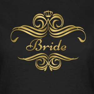 bride_swing_gold T-shirts - Vrouwen T-shirt