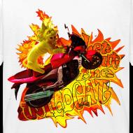 Motiv ~ Let out the wildcat, børne t-shirt