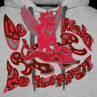 Motiv ~ Hættetrøje, Go fish! Be happy!