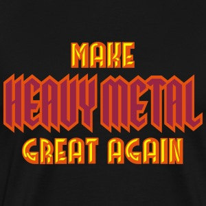 Make Heavy Metal Great Again 3C T-Shirts - Männer Premium T-Shirt
