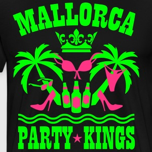 Mallorca Party Kings Malle Palmen Strand Bier Spa - Männer Premium T-Shirt