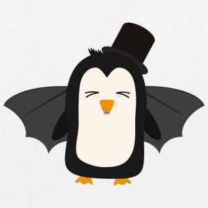 Penguin Vampire with Hat Sszqb Bags & Backpacks - EarthPositive Tote Bag