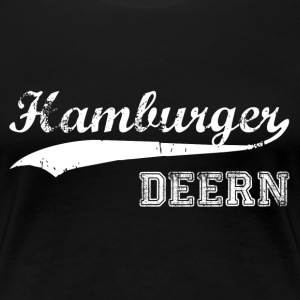 Hamburger Deern T-Shirts - Frauen Premium T-Shirt