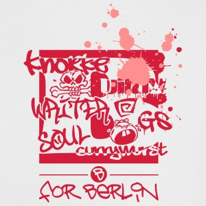 B for Berlin – Graffiti – Frauen T-Shirt - Frauen Kontrast-T-Shirt