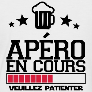 apéro en cours Tee shirts - T-shirt baseball manches courtes Homme