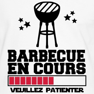 barbecue en cours Tee shirts - T-shirt contraste Homme