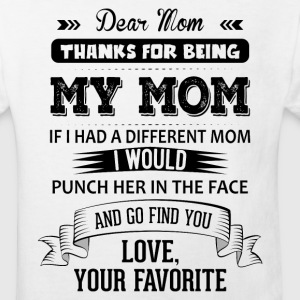 Dear Mom,  Love, Your Favorite Shirts - Kids' Organic T-shirt