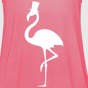 Damen Tanktop Mister Flamingo - Frauen Tank Top von Bella