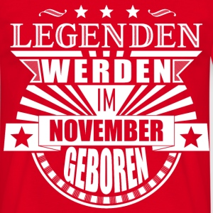 Legenden November - Männer T-Shirt