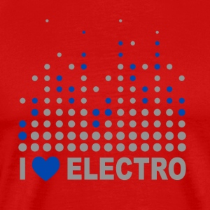 I love electro Tee shirts - T-shirt Premium Homme