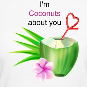 Coconuts about you 2 - Frauen Bio-T-Shirt