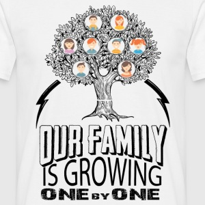 Our Family Is Growing One By One  T-Shirts - Men's T-Shirt