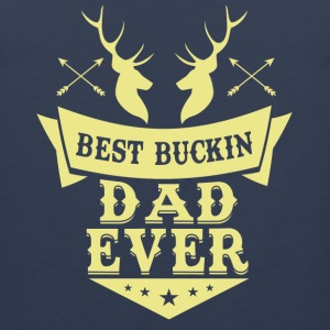 Best buckin Dad ever Sportbekleidung - Männer Premium Tank Top