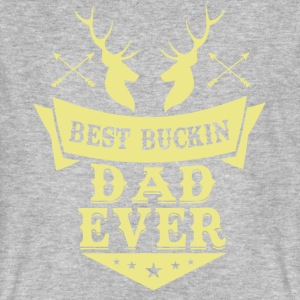 Best buckin Dad ever T-Shirts - Männer Bio-T-Shirt