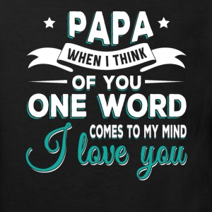 Papa i love you T-Shirts - Kinder Bio-T-Shirt