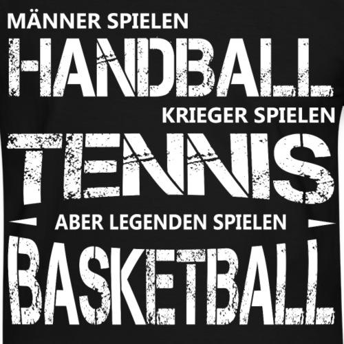 Legenden spielen Basketball