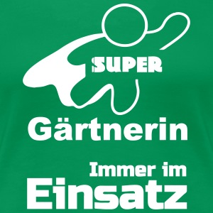 Super Gärtnerin T-Shirts - Frauen Premium T-Shirt
