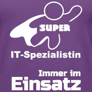Super IT-Spezialistin Tops - Frauen Premium Tank Top
