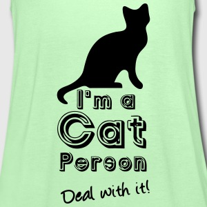 Cat Person Tops - Women's Tank Top by Bella
