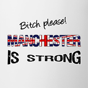 Manchester is strong Mugs & Drinkware - Mug