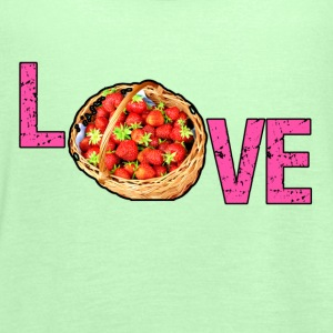 Love - Erdbeeren (Strawberries) Tops - Frauen Tank Top von Bella