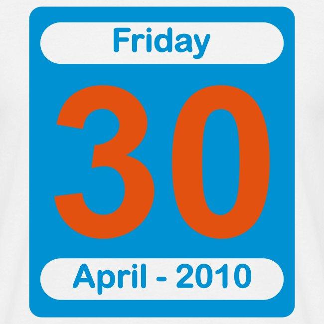 30th April 2010 Various Colours