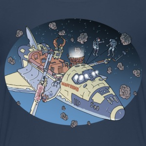 Space Adventure 3 Meteore T-Shirts - Teenager Premium T-Shirt