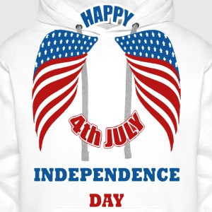 4th July America Independence Day Pullover & Hoodies - Männer Premium Hoodie