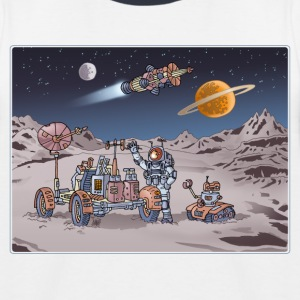 Space Adventure 4 T-Shirts - Kinder Baseball T-Shirt