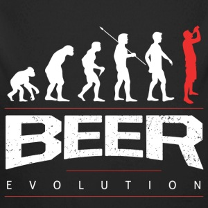 Bier Evolution Baby Bodys - Baby Bio-Langarm-Body
