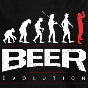 Bier Evolution T-Shirts - Teenager T-Shirt