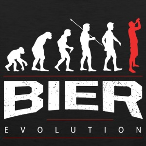 The beer evolution Sports wear - Men's Premium Tank Top
